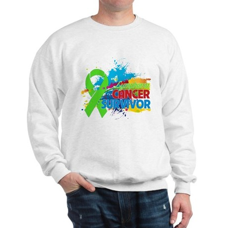Colorful - Lymphoma Survivor Sweatshirt