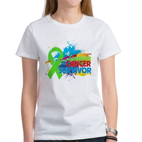 Colorful - Lymphoma Survivor Women's T-Shirt