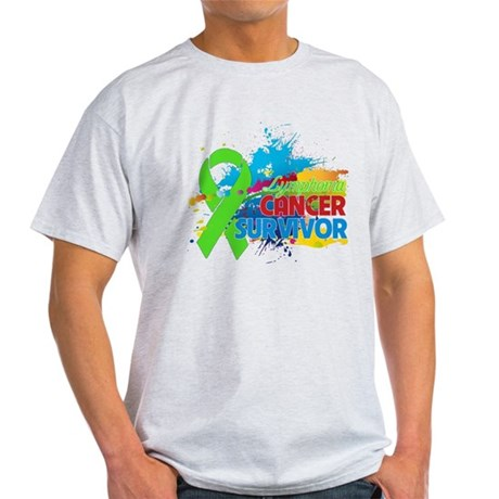 Colorful - Lymphoma Survivor Light T-Shirt