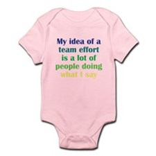 Team Effort Infant Bodysuit