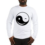 Winky Yin Yang Long Sleeve T-Shirt