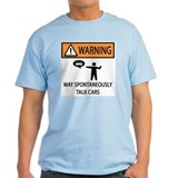 Car Talk Warning T-Shirt