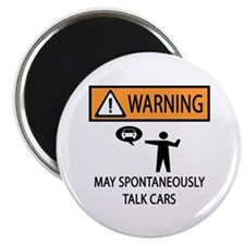 Car Talk Warning Magnet