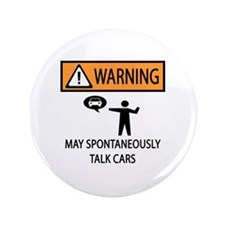 "Car Talk Warning 3.5"" Button"