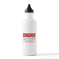 Notice / Custodians Sports Water Bottle