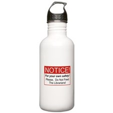 Notice / Librarians Water Bottle