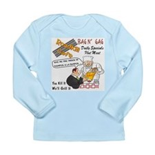 Funny Restaurant Long Sleeve Infant T-Shirt