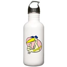 Aug. Maternity Due Date Water Bottle