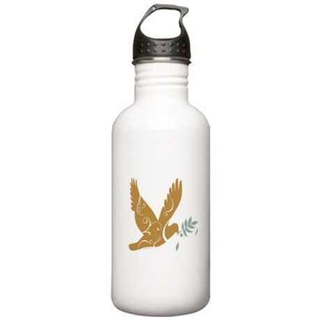 Golden Peace Stainless Water Bottle 1.0L