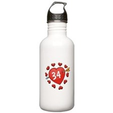 34th Valentine Water Bottle