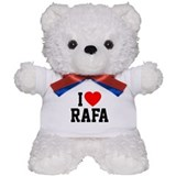 I Love Rafa Teddy Bear