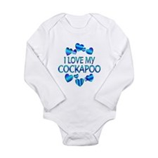 Cockapoo Long Sleeve Infant Bodysuit