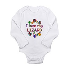 Lizard Long Sleeve Infant Bodysuit