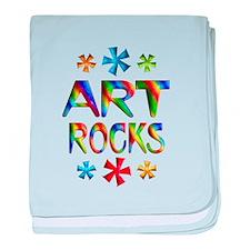 Art baby blanket