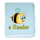 Book Reading baby blanket