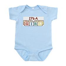 It's A Girl Infant Bodysuit