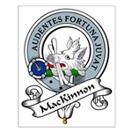 MacKinnon Clan Badge Small Poster