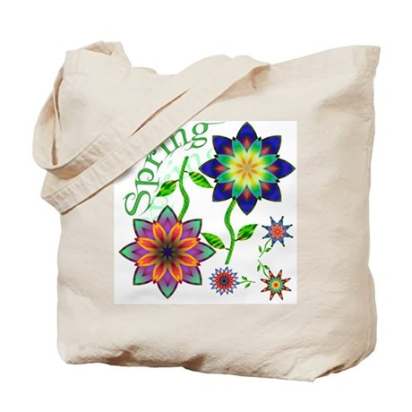 Spring Flowers Tote Bag