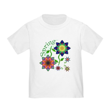 Spring Flowers Toddler T-Shirt