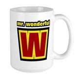 Mr Wonderful  Tasse