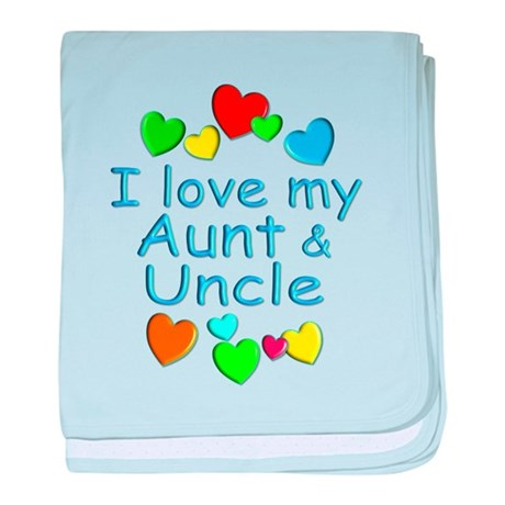 Aunt & Uncle baby blanket