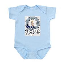 MacKay Clan Badge Infant Creeper