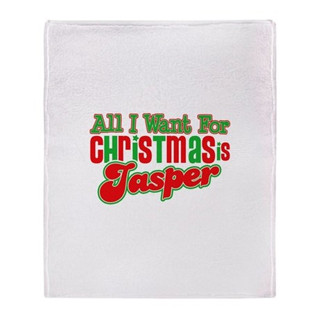 Christmas Jasper Throw Blanket