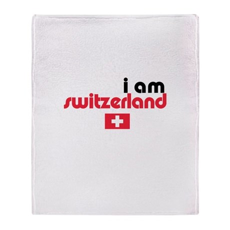 I Am Switzerland Stadium Blanket