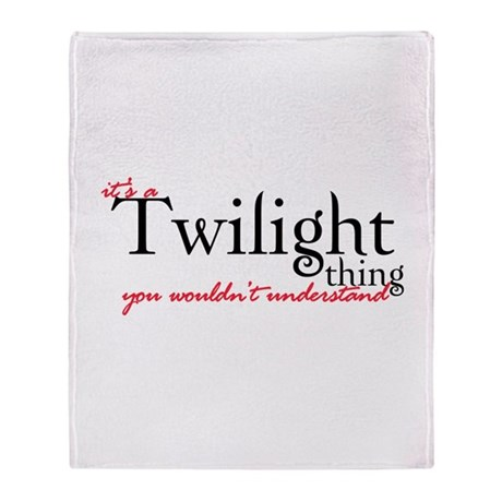 Twilight Thing Stadium Blanket