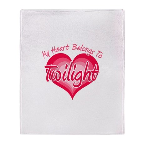 Heart Belongs Twilight Stadium Blanket