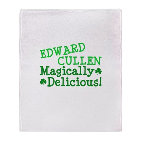 Edward Magically Delicious Throw Blanket
