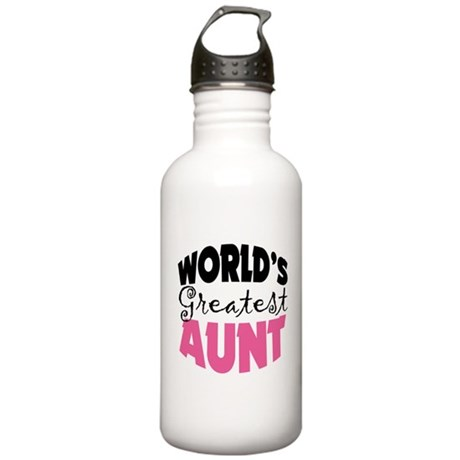 World's Greatest Aunt Stainless Water Bottle 1.0L
