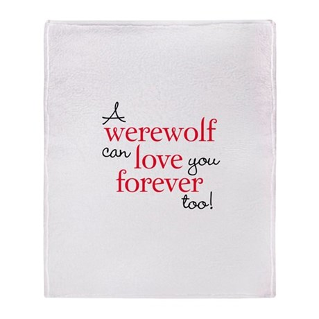 Werewolf Love Twilight Stadium Blanket