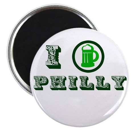 St Patricks Philly Magnet