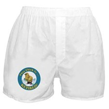 Retired Chick Boxer Shorts