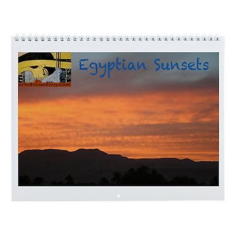 Egyptian Sunsets--Wall Calendar