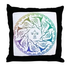 Unique Coexistence Throw Pillow