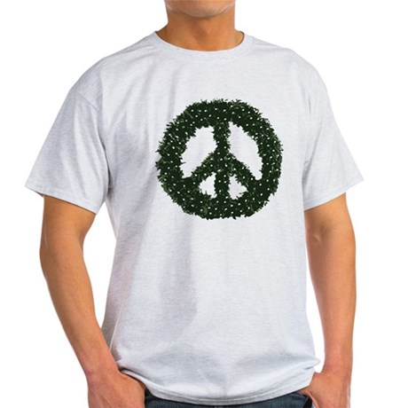 Peace Wreath Light T-Shirt