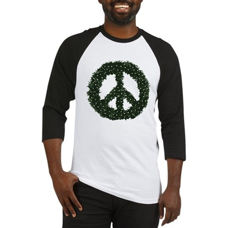 Peace Wreath Baseball Jersey