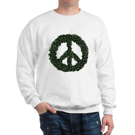 Peace Wreath Sweatshirt