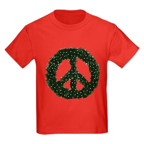 Peace Wreath Kids T-Shirt