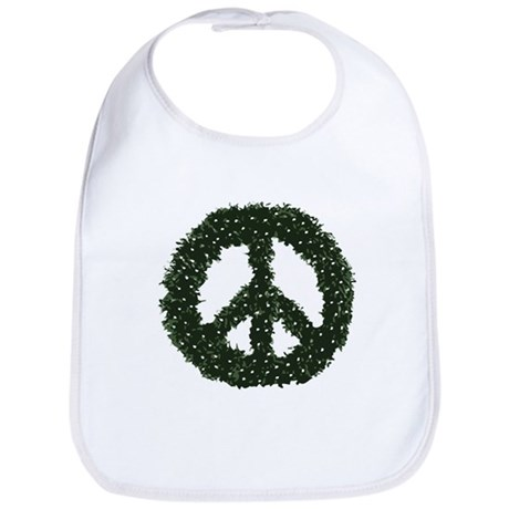 Peace Wreath Bib