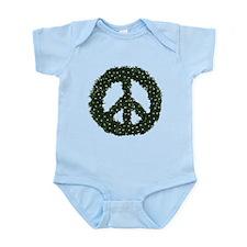 Peace Wreath Infant Bodysuit