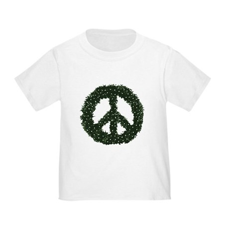 Peace Wreath Toddler T-Shirt