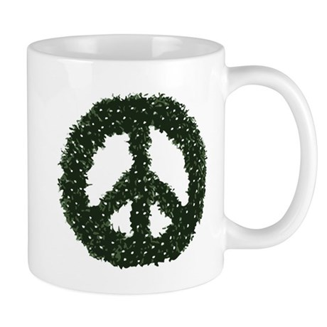 Peace Wreath Mug