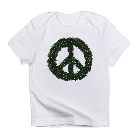 Peace Wreath Infant T-Shirt