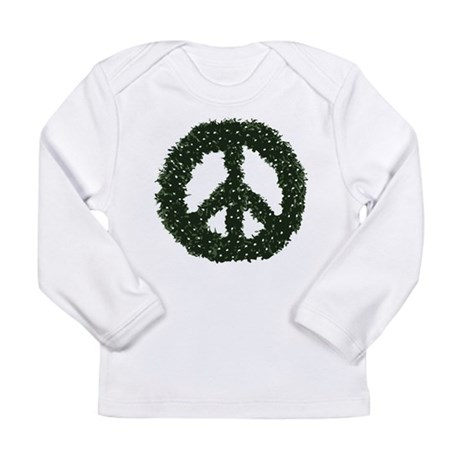 Peace Wreath Long Sleeve Infant T-Shirt