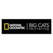 Big Cats Initiative Sticker (Bumper)