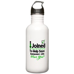 Organ Donor Registry Stainless Water Bottle 1.0L