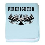 Firefighter Tattoos baby blanket